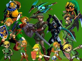 Many Forms of Link by T3H-F1GM3NT