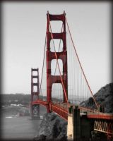Golden Gate Bridge by freezeframefoto