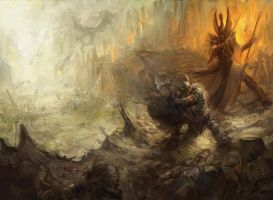 The great betrayal Warhammer by faroldjo