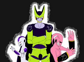 Memorable DBZ Sagas by kentaurosman