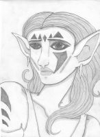 First Elf attempt by Company-of-Dragons
