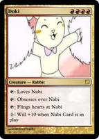 Magic Cards - Doki Card by Destroyer9283