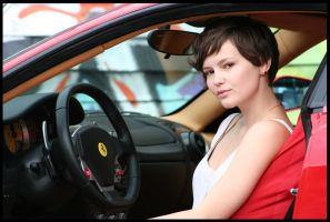 Stacey With THe Ferrari 430 by Inno68