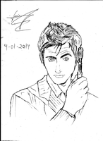 David Tennant 10th Doctor by JemesMoriarty