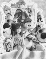 kingdom hearts by jap09