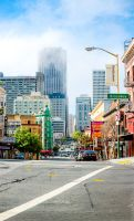 San Francisco Downtown by xelement