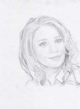 Ashley Olsen by crayon2papier