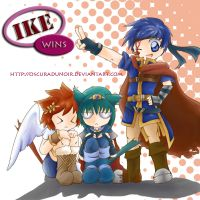 Ike wins by OscuraDuNoir