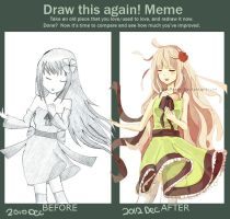 Draw This Again Meme by ChibiPaper