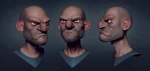 stylized head 2 by CGPTTeam