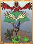 Pokemon Yggdrasil by vampire-L