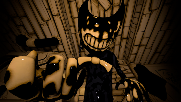 (Sfm) Ink Bendy by KameronThe1