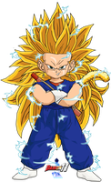Kid Vegetto SSJ3 (DBM Version) by Dairon11
