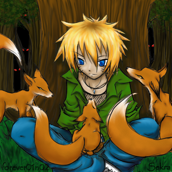 Naruto: Kitsune Forest by Level-26
