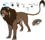 Nameless Lion by AxlRosie