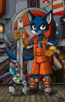 Engineer's Helper by Artraccoon