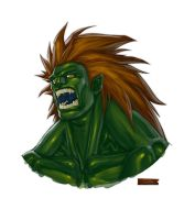BLANKA by darkeyez07