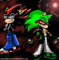 Shadow and Scourge -Request- by Mephonix