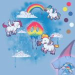Paint the Sky - Tee by merely-A