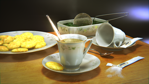 Blender - Tea Time by SlykDrako