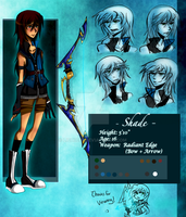 Ref Sheet : Shade by Lichiichi