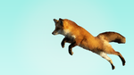 Low Poly Fox by firetrader