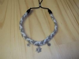 Arctic Wolf Collar Choker Commission by DaybreaksDawn