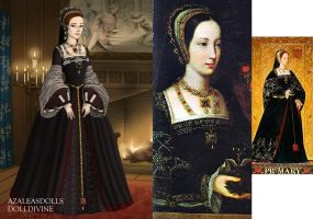 Princess Mary Tudor by LadyAquanine73551