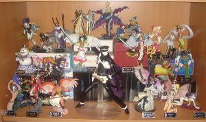 Megaten Figure Collection by WarriorOfPurgatory