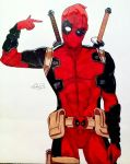 #290 Deadpool by MeowImAvery