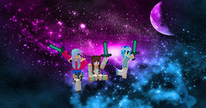 Me And My Minecraft Friends! by Gamergirl508