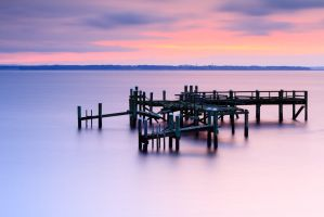Rocky Point Pier Long Exposure - Mike Dooley by mike-dooley