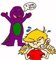 Barney Must Die.... by Numbuh-9