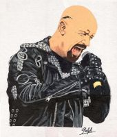 Rob Halford rocks by Ralphmax