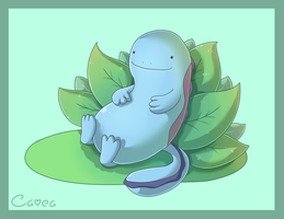 Quagsire for Sidser by Cavea