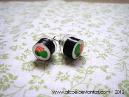 Sushi Earring by alicoe