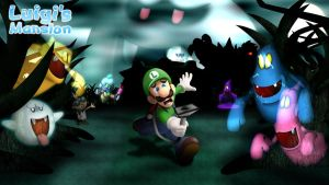 Luigi's Mansion by GEO-GIMP