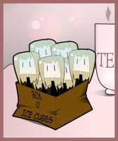 Ice Cubes by TheBloodWingedAngel