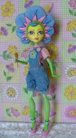 Monster High custom Fifi Flowertot by redmermaidwerewolf