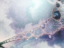 Fractal Impression 2 - January by rocamiadesign