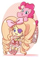 Playfully pink by CuddlyCapes