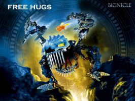 BIONICLE-free hugs by RAC1000