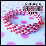 Love a Lot Bear KANDi CUFF Rave Bangle Set by SugarAndSpiceDIY
