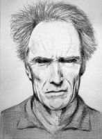 Clint Eastwood by PMucks