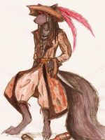 Captain Jack Anthro by erynxx