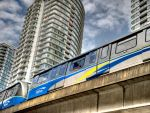 SkyTrain Vancouver by MichelLalonde