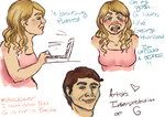 Dating a Beatle and other horrors! by sceneecupcake