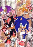 sonic heroes_hang casel Zone by f-sonic