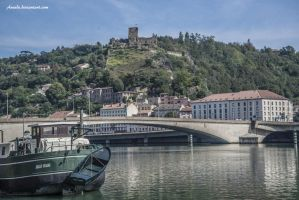 Vienne  the old fort by Aneede