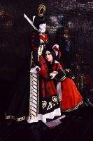 Alice and the Red Queen by Fraulein-Mao